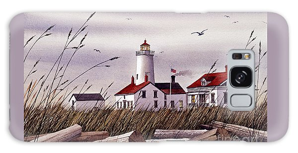 Dungeness Lighthouse Galaxy Case