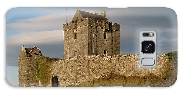 Dunguire Castle Galaxy Case by Kathleen Scanlan