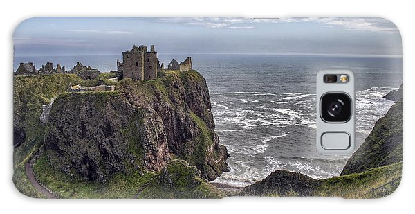 Dunnottar Castle And The Scotland Coast Galaxy Case