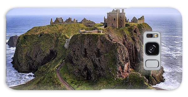 Dunnottar Castle Panorama Galaxy Case