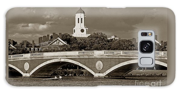 Weeks Bridge Charles River Bw Galaxy Case by Tom Wurl