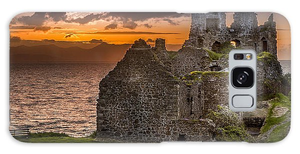 Dunure Castle Ayrshire Scotland Galaxy Case