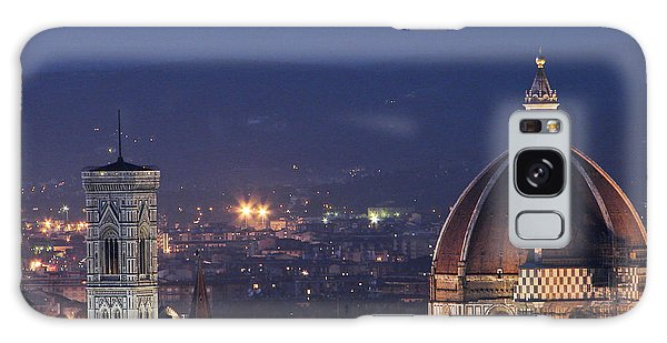 Duomo At Night Florence Italy Galaxy Case