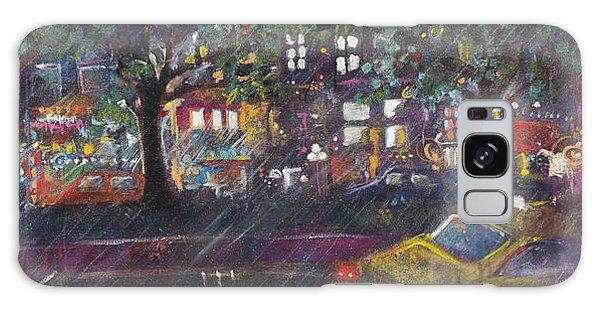 Dupont In The Rain Galaxy Case by Leela Payne
