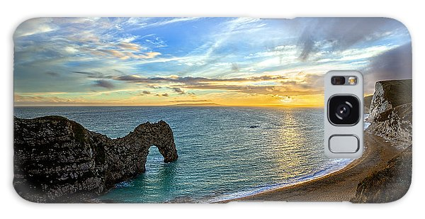 Durdle Door Sunset Galaxy Case