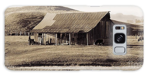 Durham California Barn Galaxy Case
