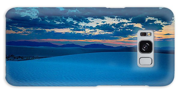 Dusk At White Sands Galaxy Case