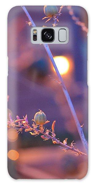 Dusk Flowers Galaxy Case