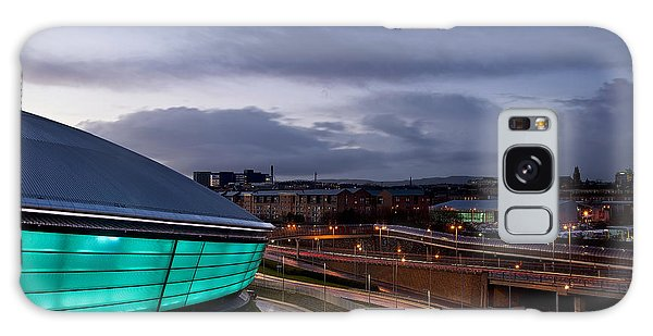 Dusk Over Glasgow Galaxy Case
