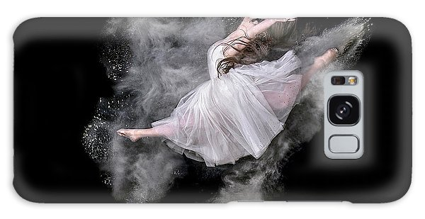Jump Galaxy Case - Dust Dancer by Pauline Pentony Ma