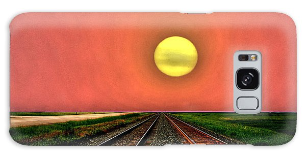 Dustbowl Sunset Galaxy Case