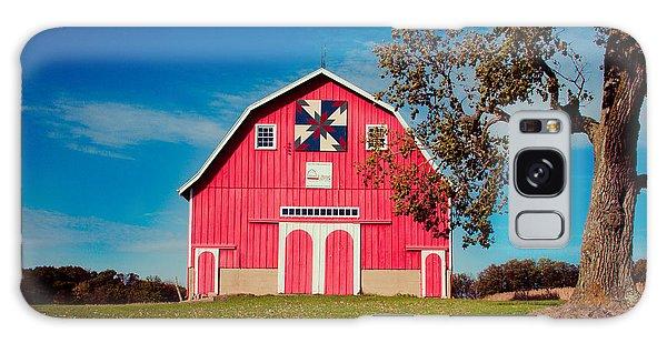 Dutch Colonial Quilt Barn 2 Galaxy Case