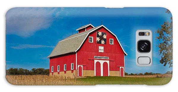 Dutch Colonial Quilt Barn Galaxy Case