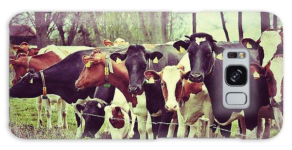 Dutch Cows Galaxy Case by Nick  Biemans