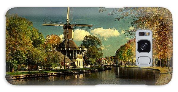 Dutch Windmill Galaxy Case