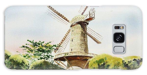 Dutch Windmill In San Francisco  Galaxy Case