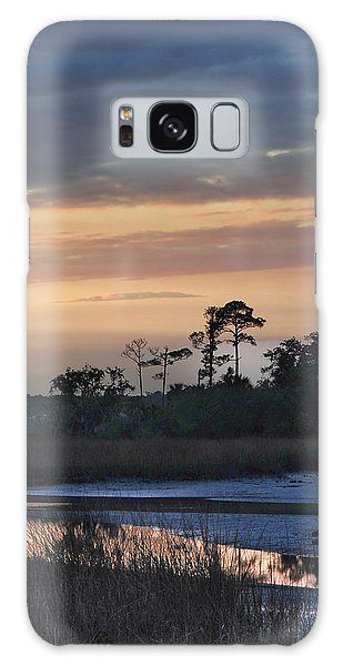 Dutton Island At Dusk Galaxy Case by Phyllis Peterson