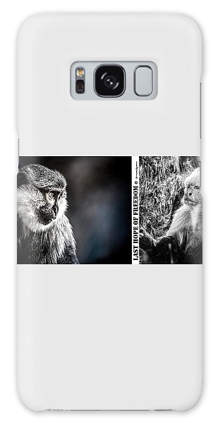 Galaxy Case featuring the photograph diptych Last hope of Freedom  by Stwayne Keubrick