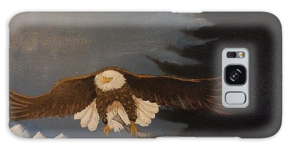 Eagle Flying Galaxy Case