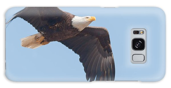Eagle In Flight Galaxy Case