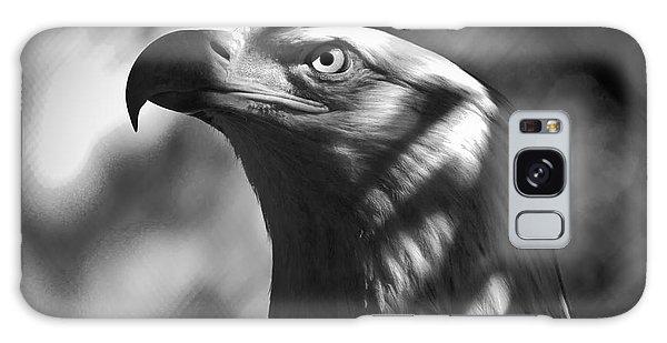 Eagle In Shadows Galaxy Case by Robert Frederick