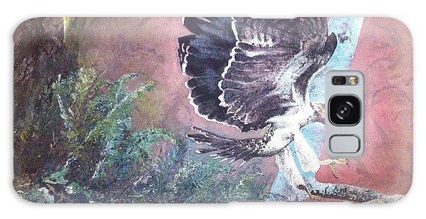 Eagle Light Galaxy Case