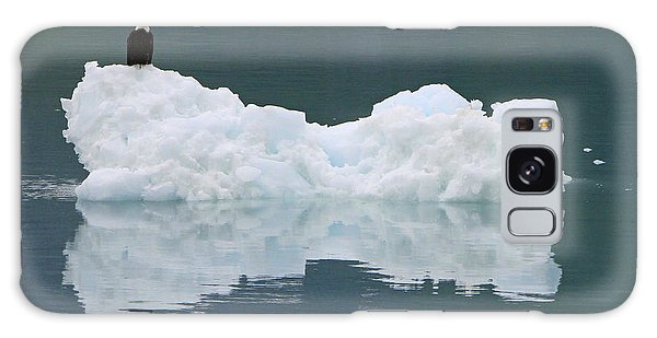 Eagle On Ice Galaxy Case by Shoal Hollingsworth