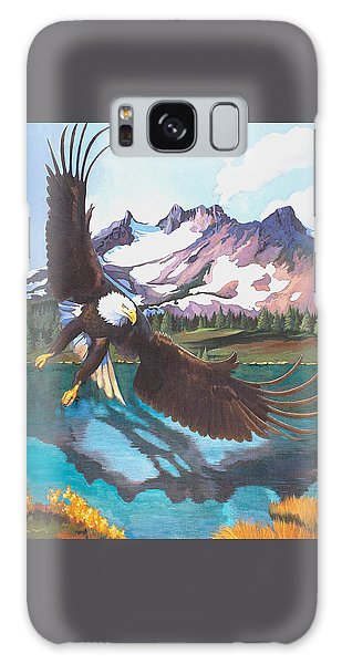 Eagle Oregon Lake Galaxy Case