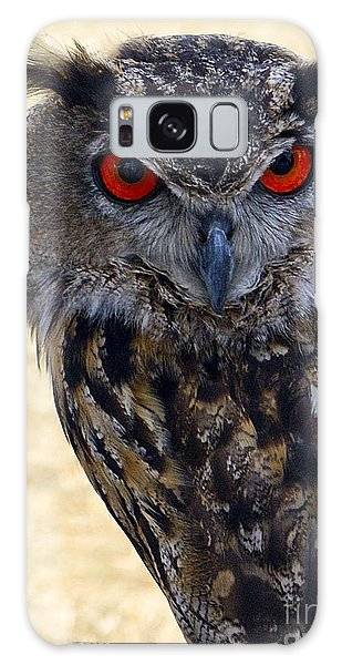 Eagle Owl Galaxy Case