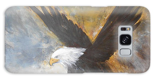 Eagle Spirit 2 Galaxy Case by Jane  See