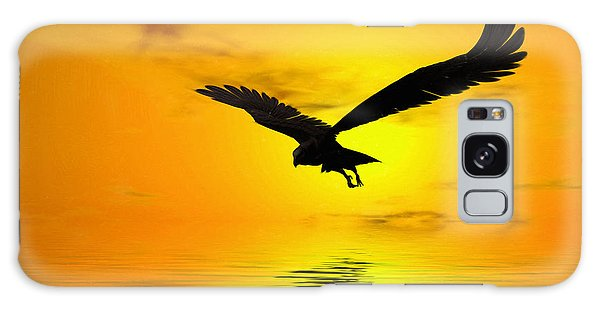 Majestic Galaxy Case - Eagle Sunset by John Edwards