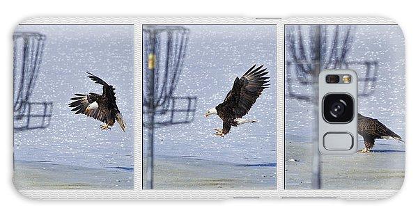 Eagle Triptych Galaxy Case by Rob Graham