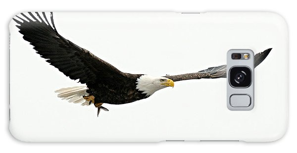 Eagle With Fish Galaxy Case