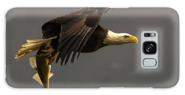 Eagle With Fish Galaxy Case by Ursula Lawrence