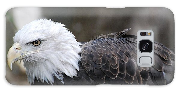 Eagle With Ruffled Feathers Galaxy Case by DejaVu Designs