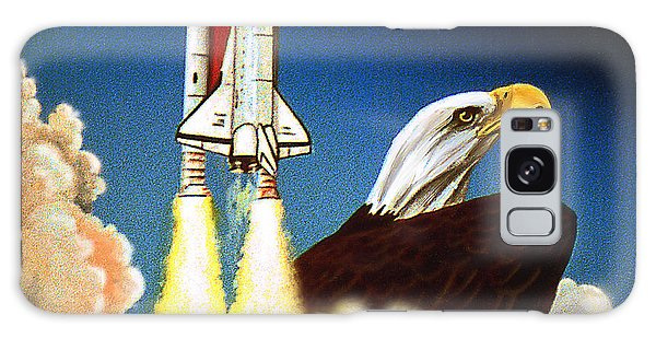 Da165 Eagle's Flight By Daniel Adams Galaxy Case
