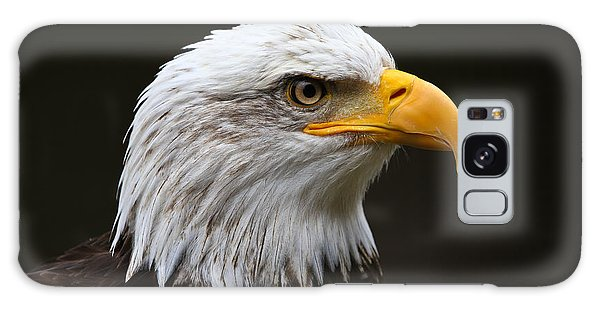 Bald Eagle Profile Galaxy Case by John Roberts