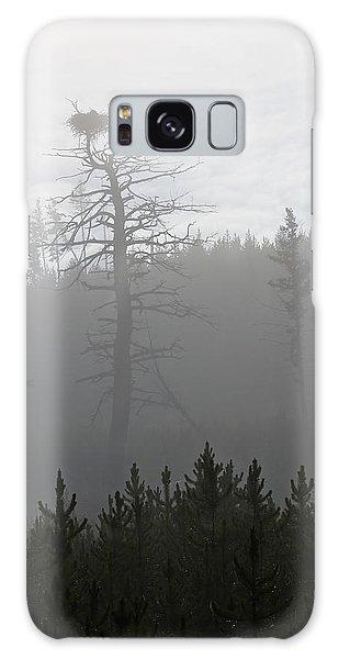 Eagle's Nest In Fog Galaxy Case