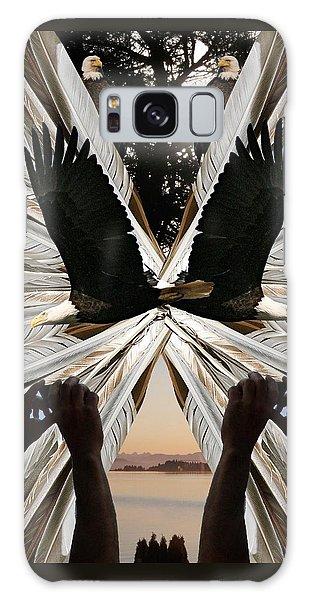 Eagle's Song Galaxy Case