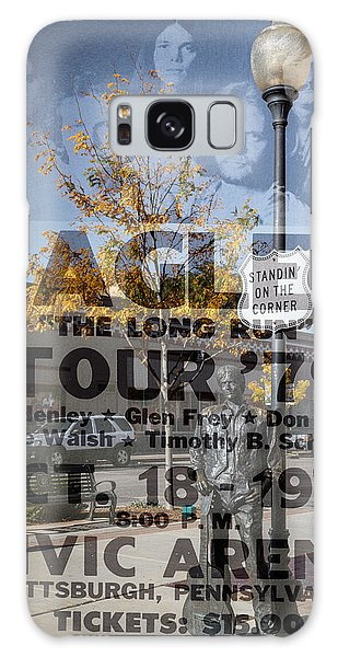 Eagles The Long Run Tour Galaxy Case