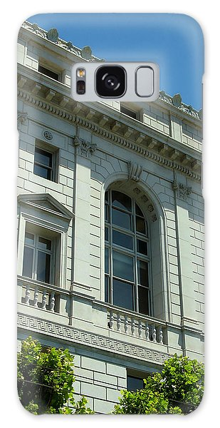 Earl Warren Building - San Francisco Galaxy Case by Connie Fox