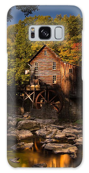 Early Autumn At Glade Creek Grist Mill Galaxy Case
