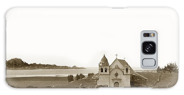 Early Carmel Mission And Point Lobos California Circa 1884 Galaxy Case