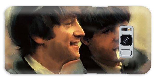 Early Days II John Lennon And Paul Mccartney Galaxy Case