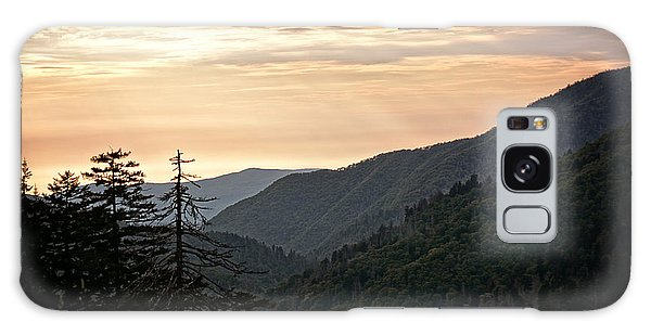 Early Evening In The Smokey Mountains Galaxy Case by Eva Thomas