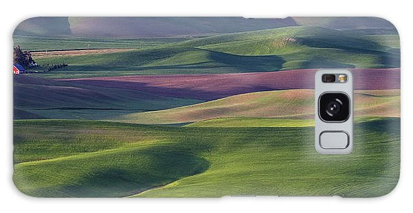 Contour Galaxy Case - Early Light In The Palouse by Latah Trail Foundation