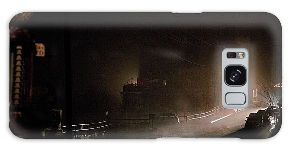 Early Misty Morning In Jerome Az Galaxy Case