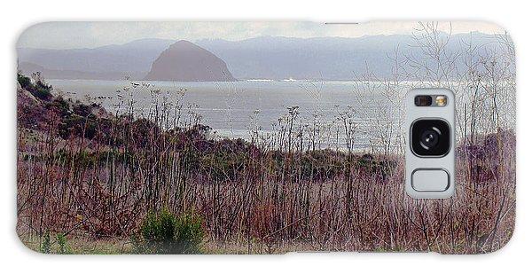 Morro Bay Early Morning Galaxy Case by Walter Fahmy