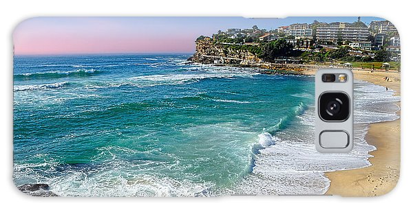 Early Morning Bronte Beach By Kaye Menner Galaxy Case
