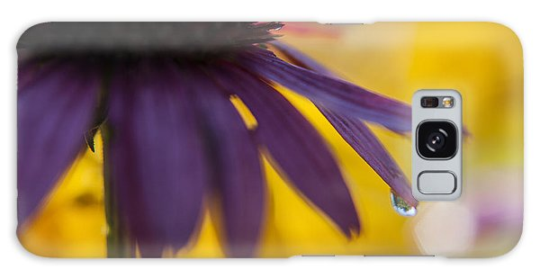 Early Morning Dew Drops Galaxy Case by Amber Kresge